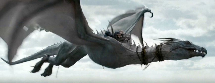 Gringotts dragon