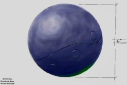 Quidditch Bludger Ball (Concept Artwork) 1
