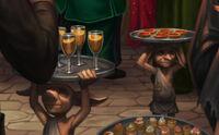 Elfes à la fête de Slughorn