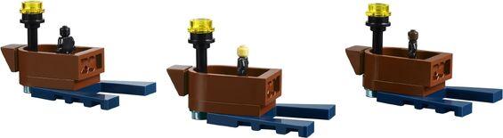 Lego łodzie