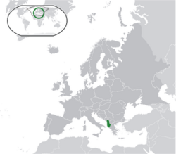 Location Albania Europe