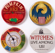 MinaLima Store - Fantastic Beasts Pack of 4 Badges