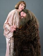 HP4 promo Olympe Maxim et Hagrid