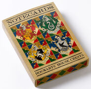 MinaLima Store - The Hogwarts Series - Notecards (Collection 2)