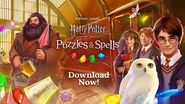Harry Potter Puzzles & Spells Worldwide Launch Trailer