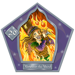 Wendelin The Weird-20-chocFrogCard