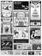 MinaLima Store - Adverts from The New York Ghost