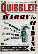 MinaLima Store - The Quibbler - Harry in Hiding