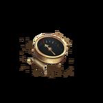 Minuscule boussole en cuivre