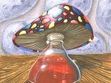 Breuvage de champignon mortel