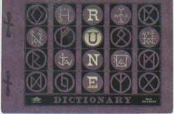RuneDictionary