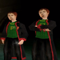 Fred et George Weasley - PS1