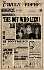 graphic regarding Daily Prophet Printable titled Each day Prophet Harry Potter Wiki FANDOM run by way of Wikia