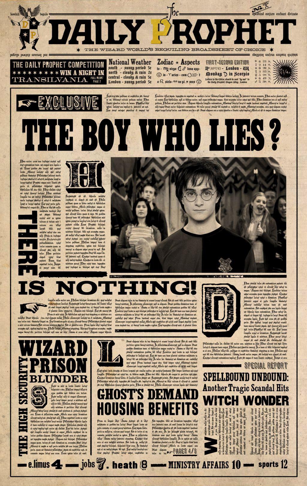 Daily Prophet | Harry Potter Wiki | FANDOM powered by Wikia