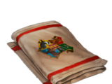 Hogwarts tea towel