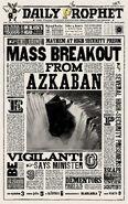 MinaLima Store - The Daily Prophet - Mass Breakout from Azkaban