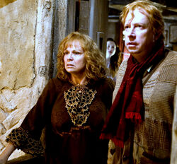 Molly and Arthur Weasley