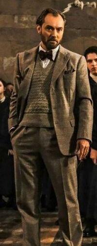 Albus Dumbledore professeur