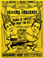 MinaLima Store - Skiving Snackbox Advertisement