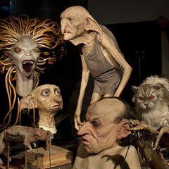 Модели и восковые фигуры волшебных существ