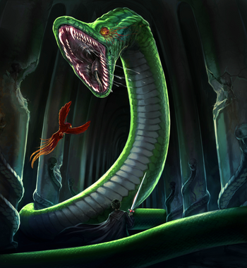 skirmish in the chamber of secrets harry potter wiki