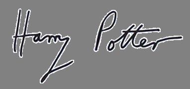 Harry Potter sig