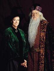 Minerva McSnurp og Albus Humlesnurr