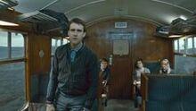 Neville on hogwarts express