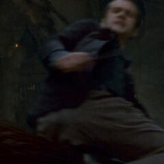 Вуд во время Битвы за Хогвартс