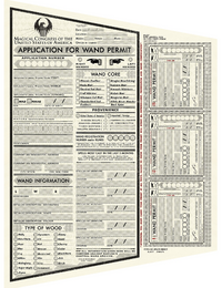 Application for Wand Permit