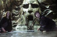 Harry-Ginny-Chambre-Secrets-statue-Salazar