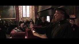 McGonagall ogłoszenie pokój wspólny