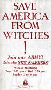 MinaLima Store - New Salem Philanthropic Society Propaganda