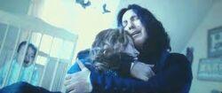 Snape e Lílian