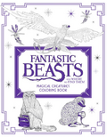 Fantastic Beasts and Where to Find Them Magical Creatures Coloring Book Обложка Раскраска