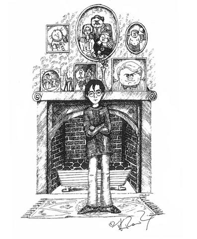 File:JKR Harry and the Dursleys illustration.png