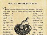 Most Macabre Monstrosities