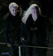 Lucius und Draco Malfoy