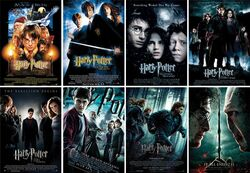 Saga Harry Potter Films