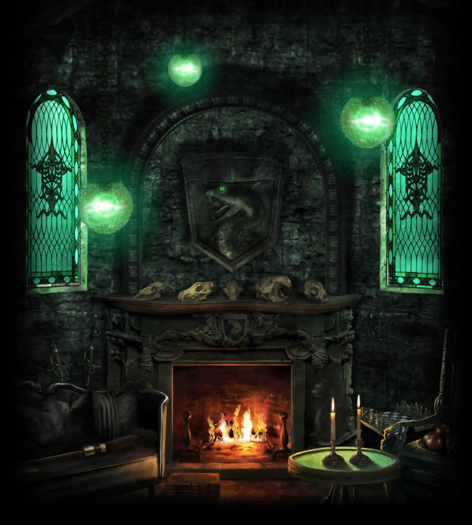 Salle Commune De Serpentard Wiki Harry Potter Fandom Powered By