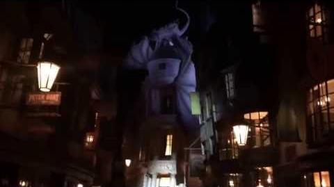 First Look Diagon Alley Nightime Walkthrough at Universal Orlando
