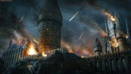,,bombardowany'' Hogwart