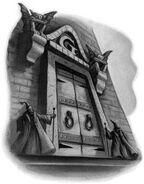 Gringotts entrance