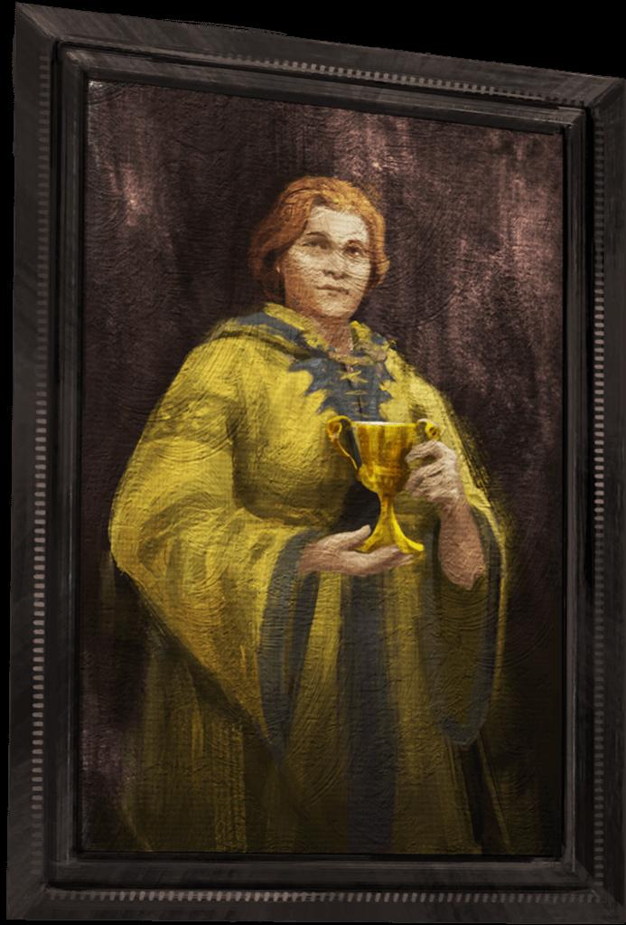 Helga Hufflepuff Portrait WU