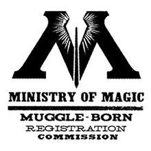 Эмблема комисси по учёту магловских выродков