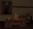 Desk of the Hogwarts Librarian