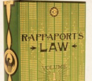 Rappaport's Law