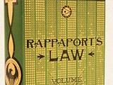 Закон Раппапорт