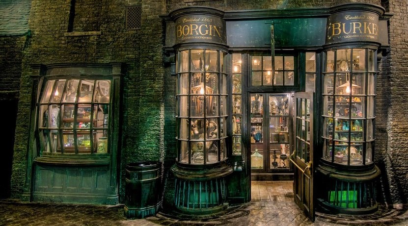 Borgin And Burkes Harry Potter Wiki Fandom