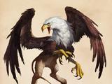 狮身鹰首兽